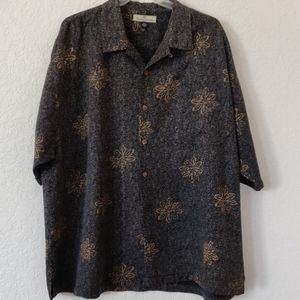 Tommy Bahama men's 100%Silk shirt